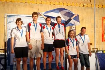 ETU Championships Eilat Podium